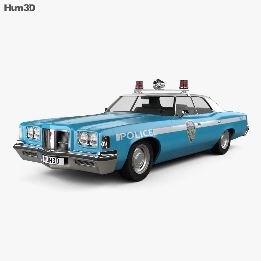 Pontiac Catalina Police 1972 3d model