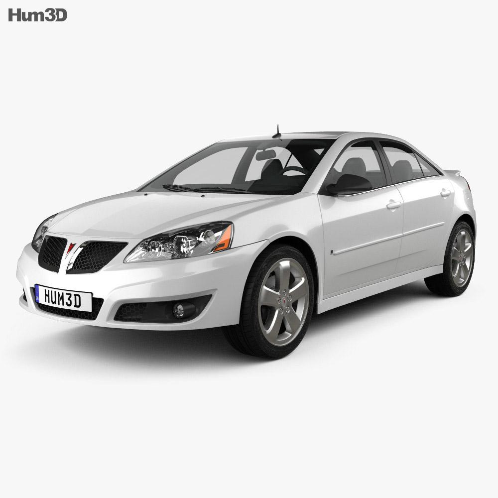 pontiac g6 gt 2006 3d model vehicles on hum3d. Black Bedroom Furniture Sets. Home Design Ideas