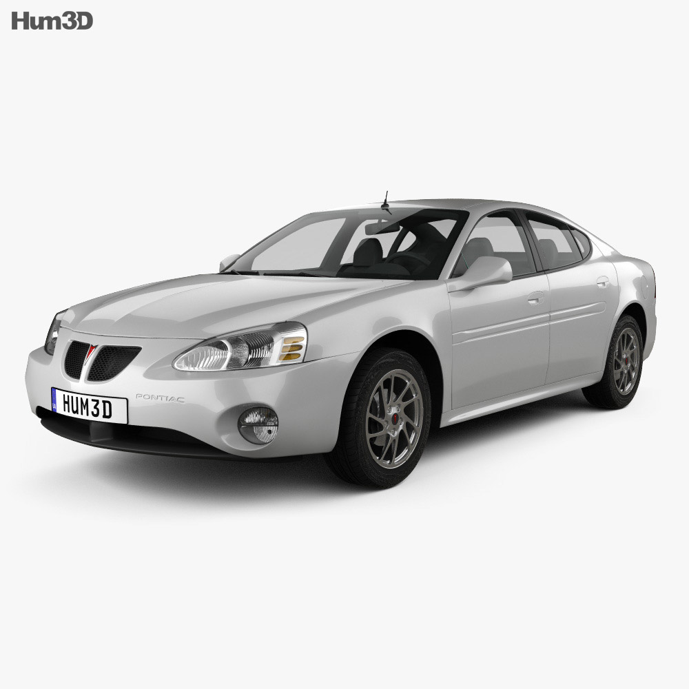 Pontiac Grand Prix GTP 2004 3d model