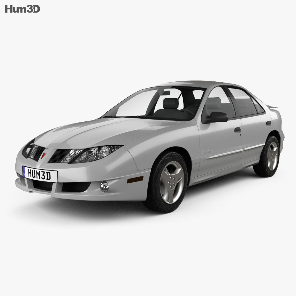 Pontiac Sunfire 2003 3d model