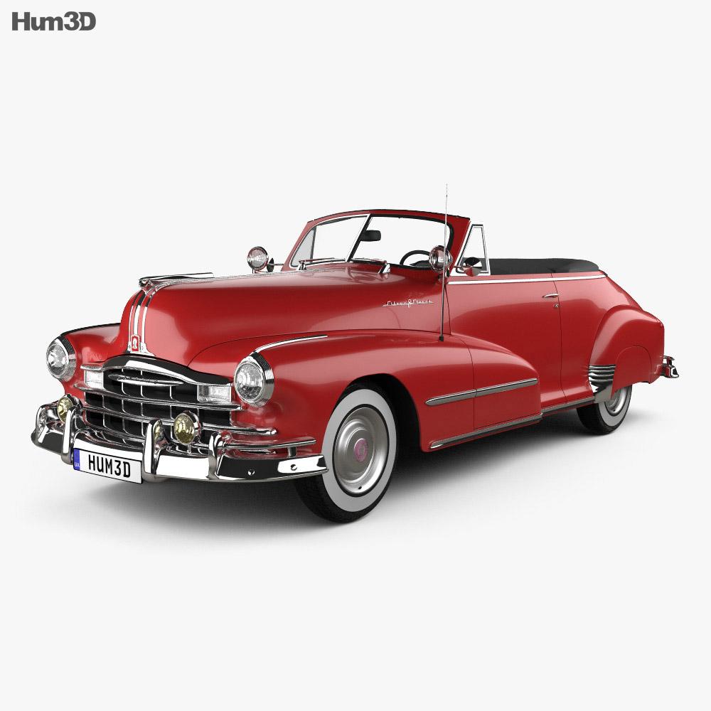 Pontiac Torpedo Eight Deluxe Convertible 1948 3d model
