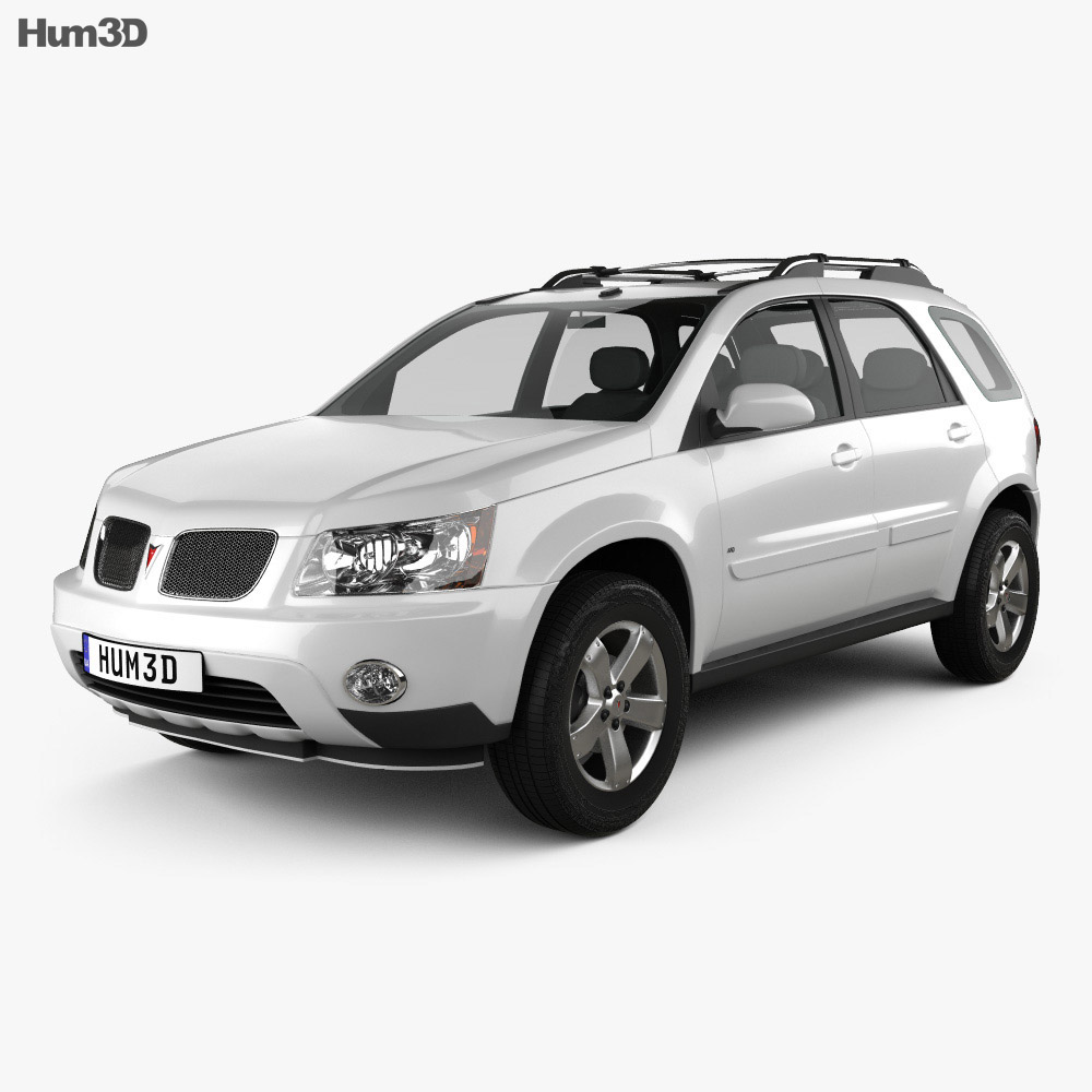 Pontiac Torrent 2006 3d model