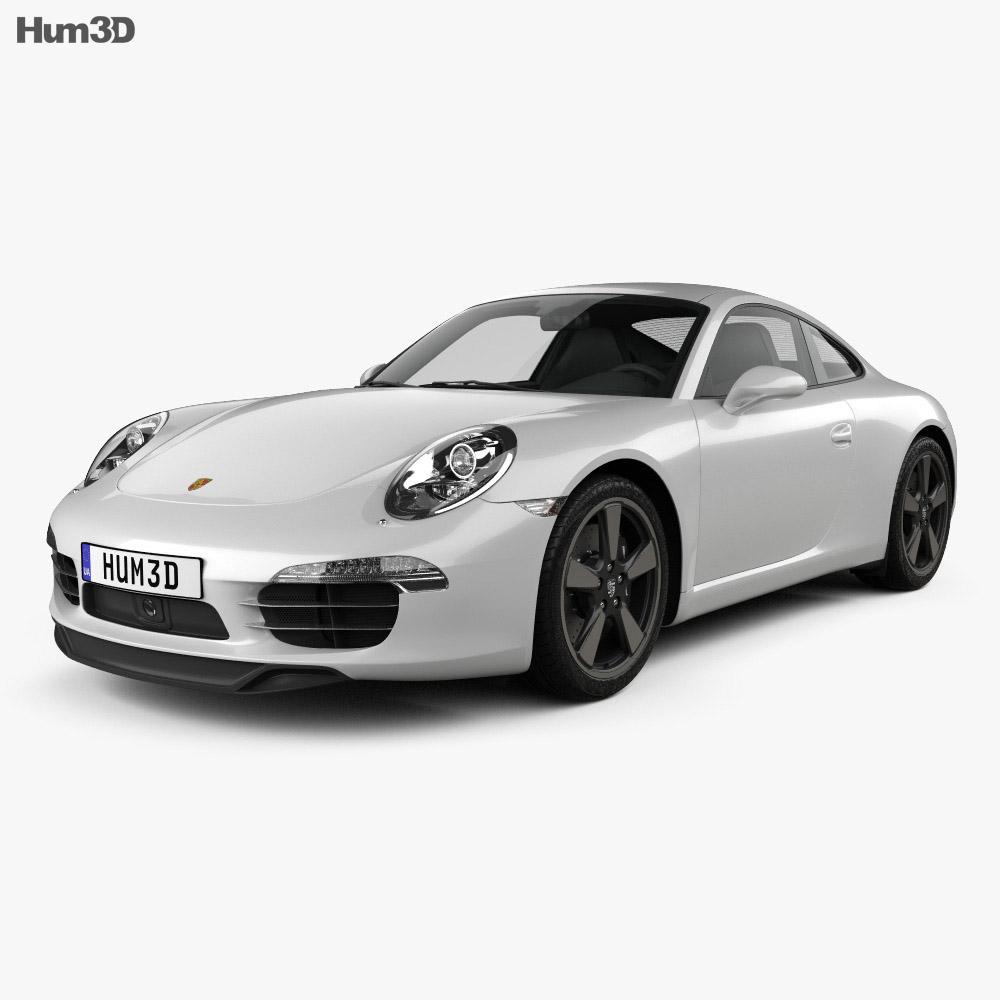 Porsche 911 (991) Carrera 50th Anniversary Edition 2013 3d model