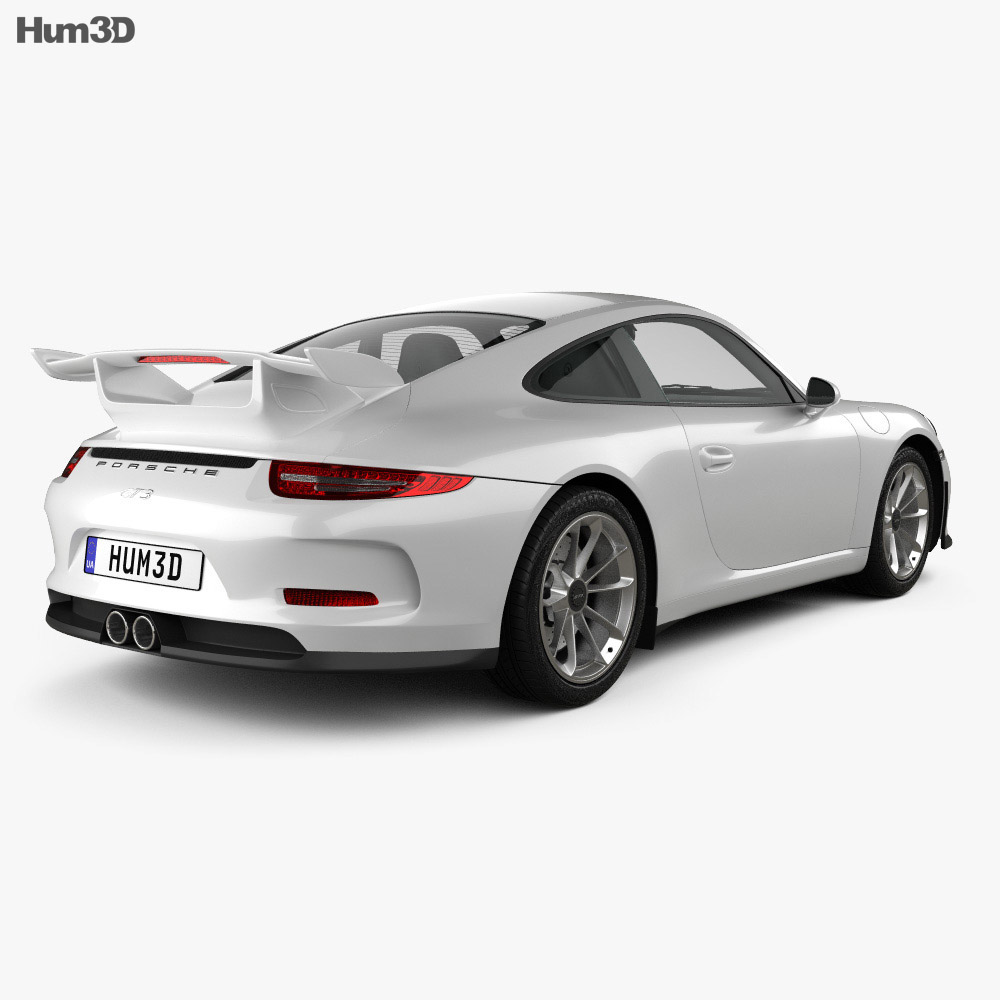Porsche 911 (991) Carrera GTR3 2013 3d model