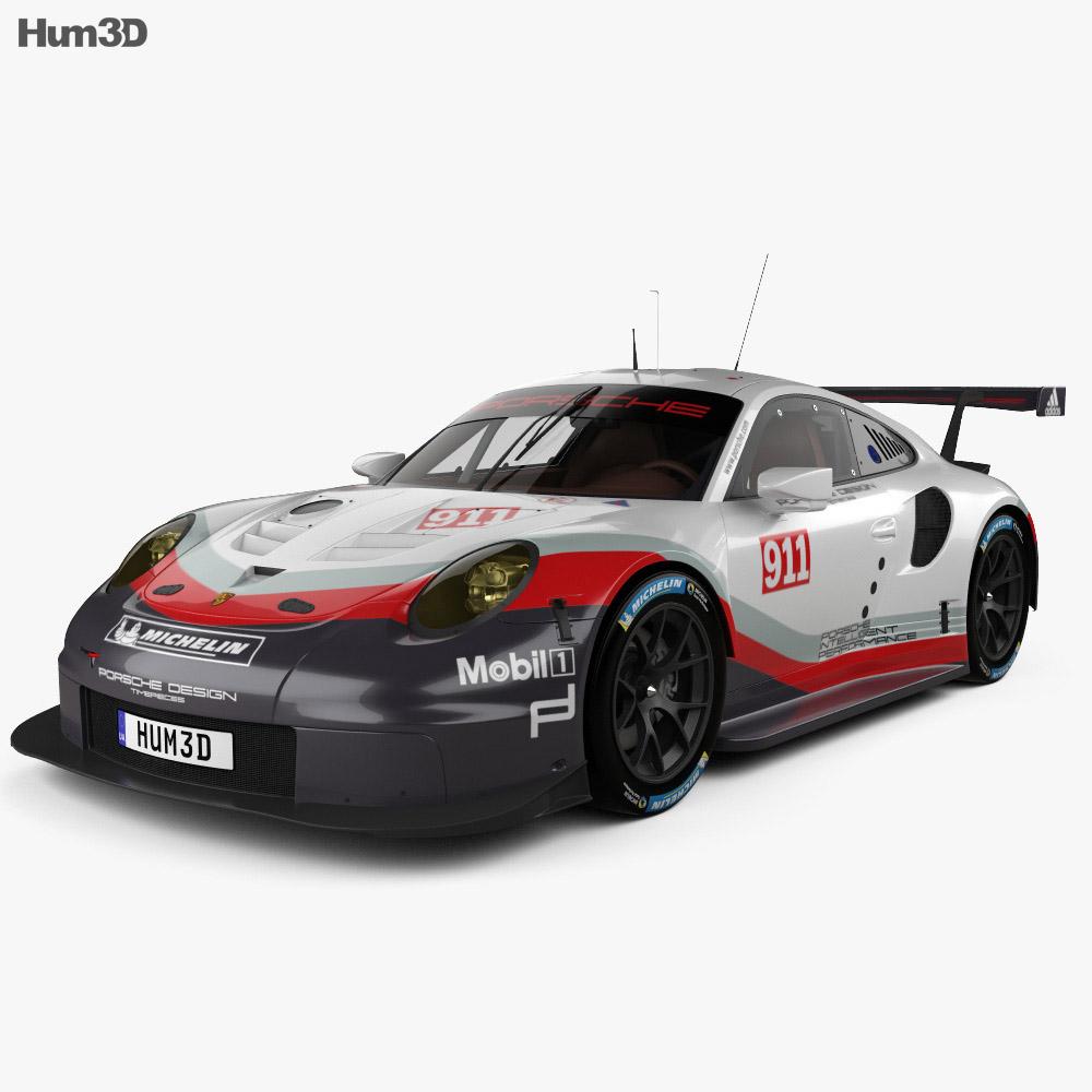 Porsche 911 Rsr 2017 : porsche 911 carrera 991 rsr 2017 3d model hum3d ~ Maxctalentgroup.com Avis de Voitures