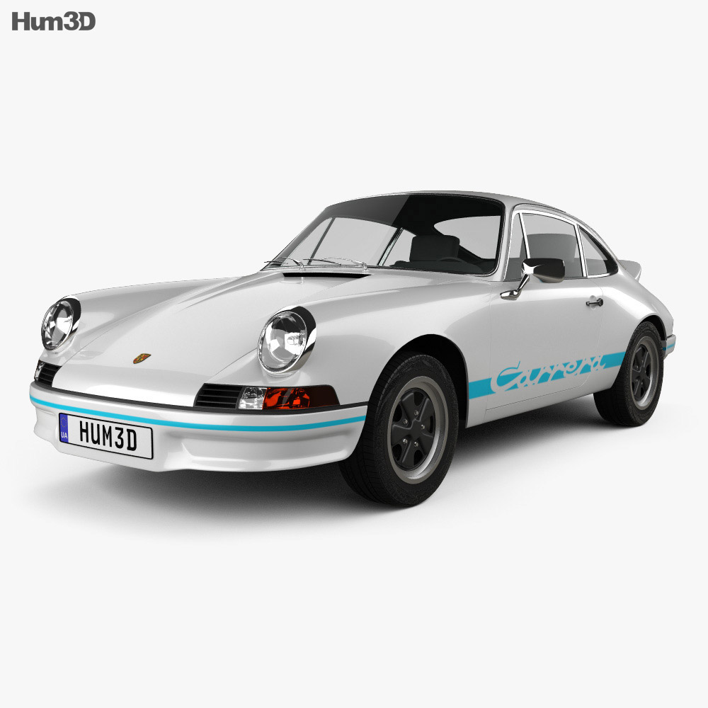 Porsche 911 Carrera RS Sport (911) 1972 3d model