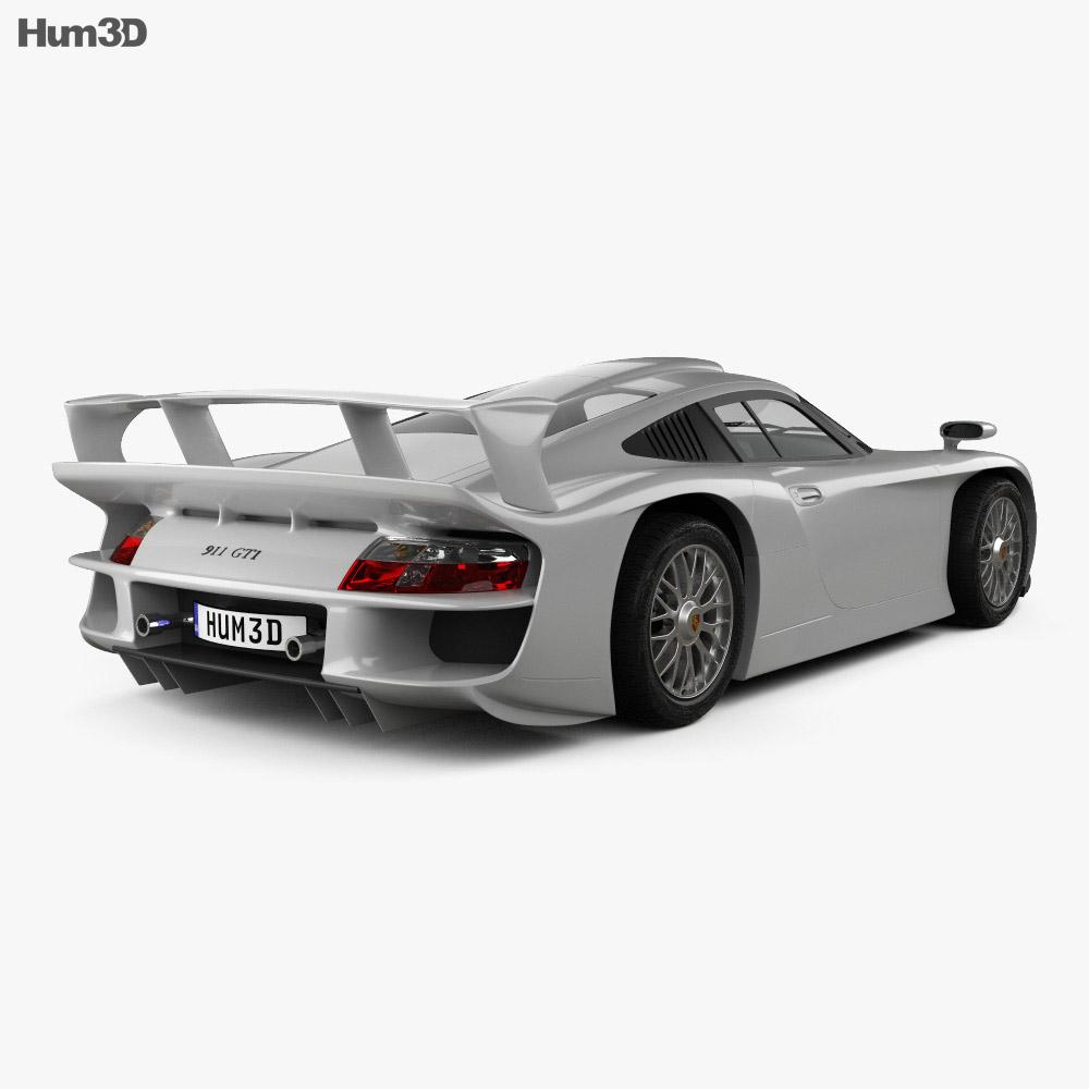 Porsche 911 GT1 Stradale (993) 1996 3d model