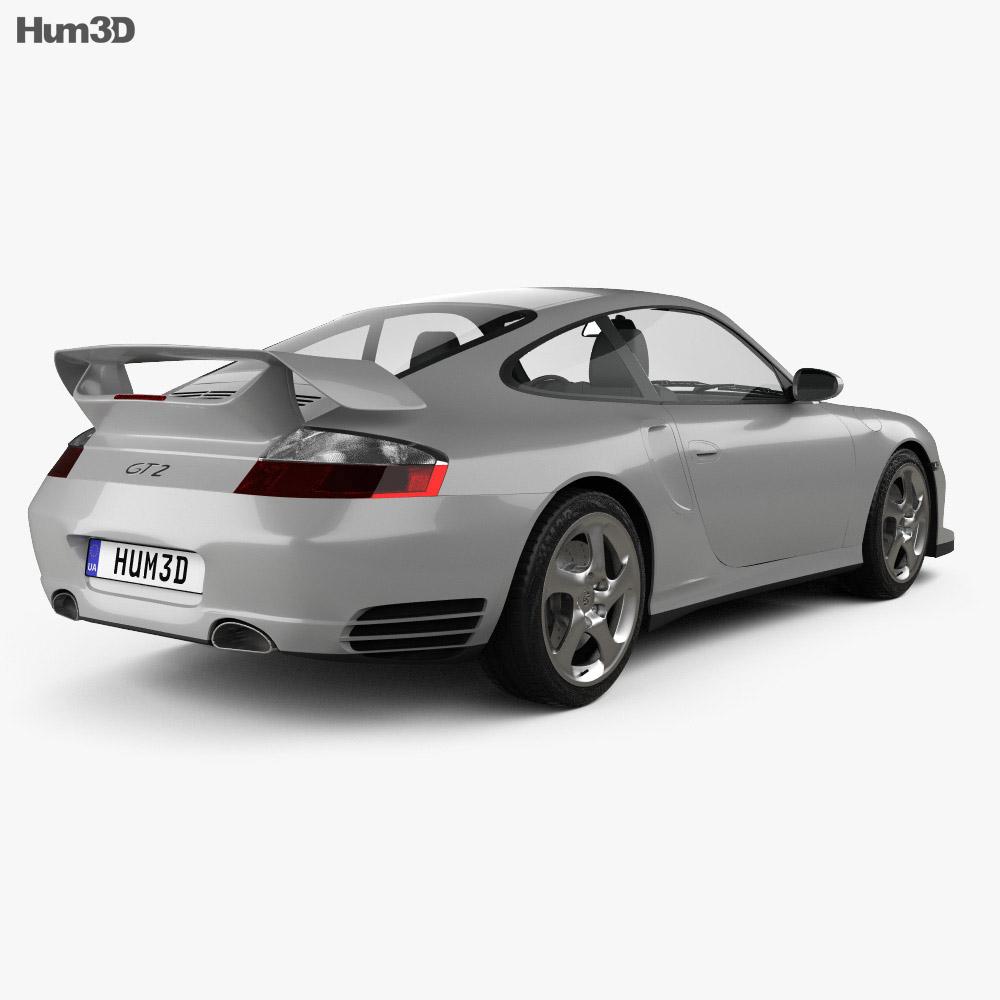 Porsche 911 GT2 Coupe (996) 2001 3d model