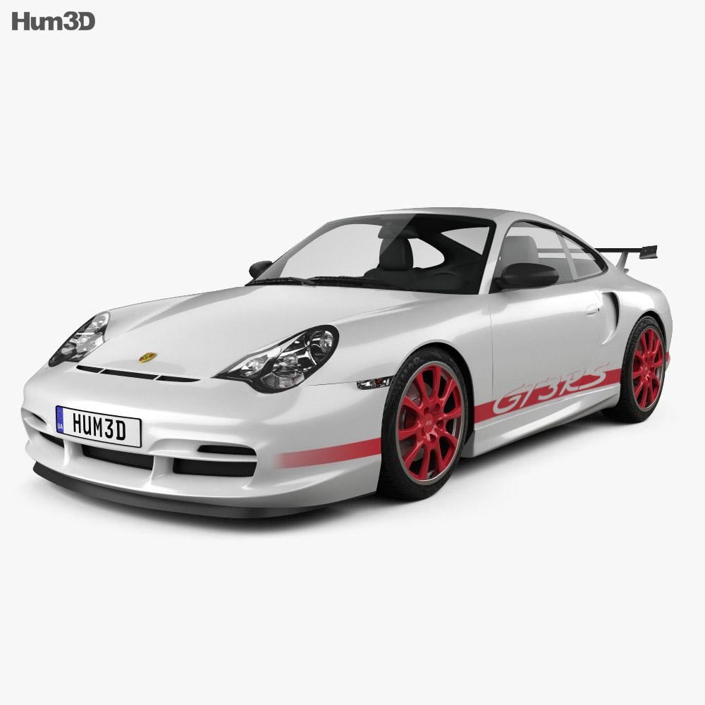 Porsche 911 GT3RS Coupe (996) 2003 3d model