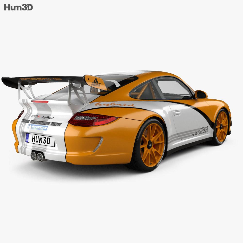 Porsche 911 GT3 RS 2011 3d model