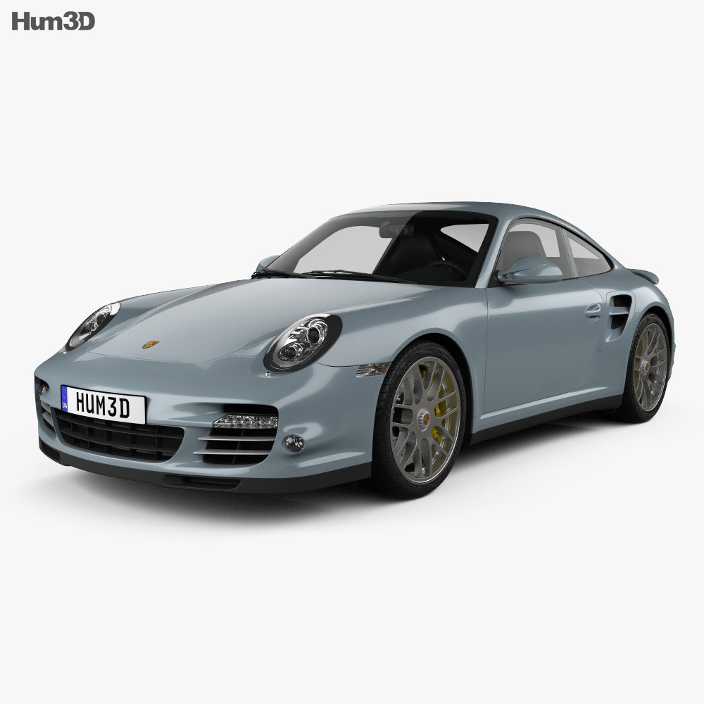 Porsche 911 Turbo S Coupe 2011 3d model