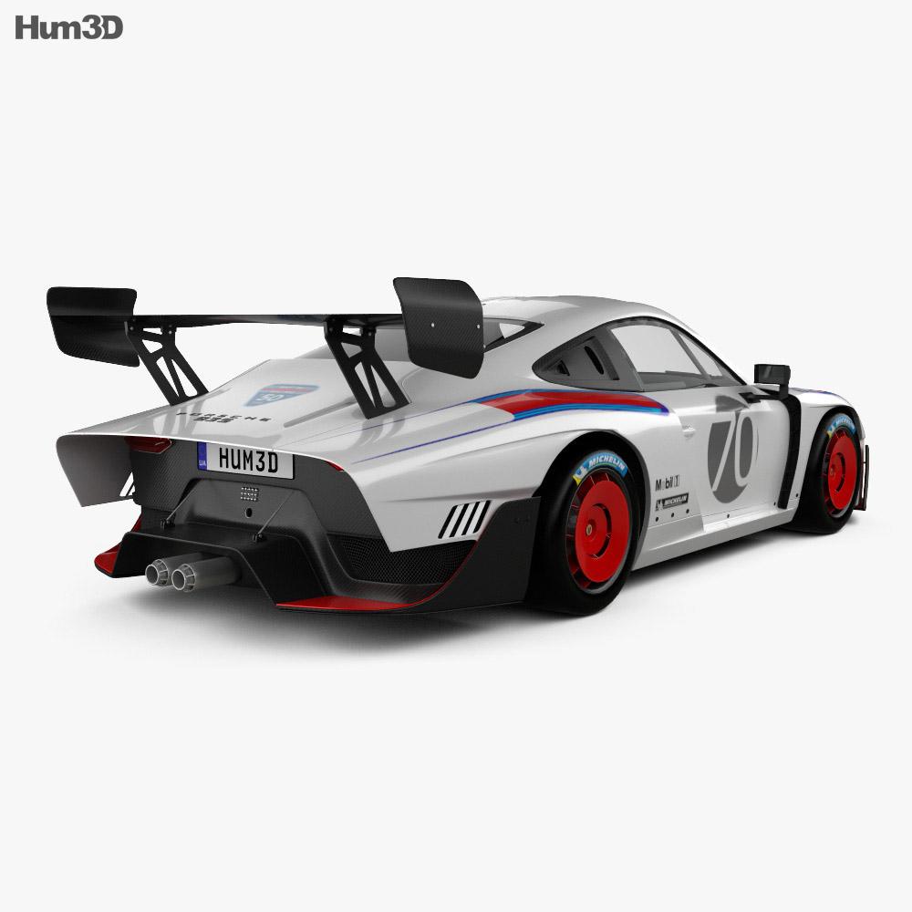 Porsche 935 2019 3d model