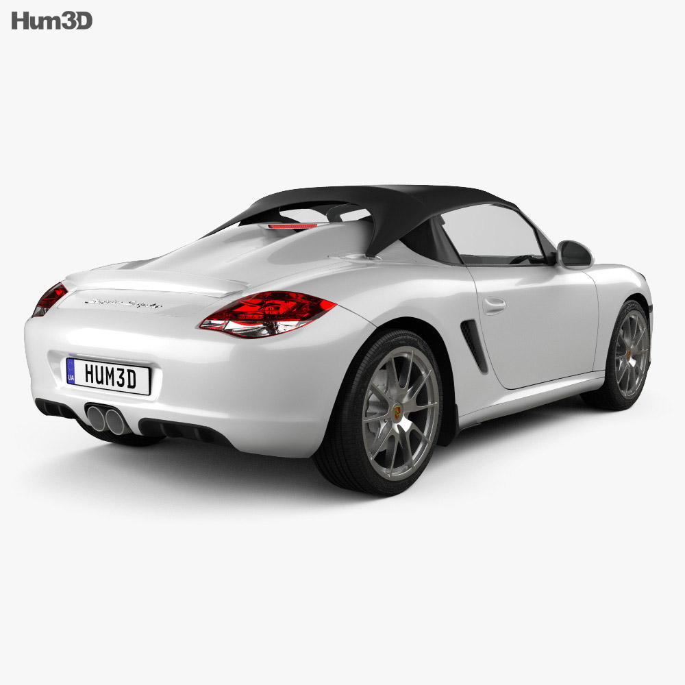 Porsche Boxster Spyder 2011 3d model