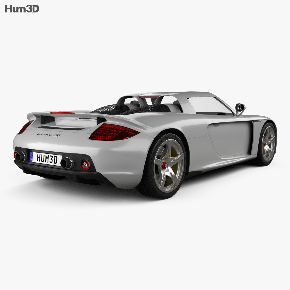 Porsche Carrera: Porsche Carrera GT (980) 2004 3D Model