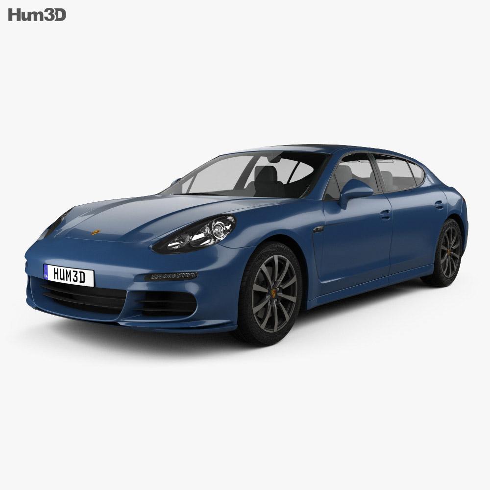 Porsche Panamera 4S Executive 2014 3d model