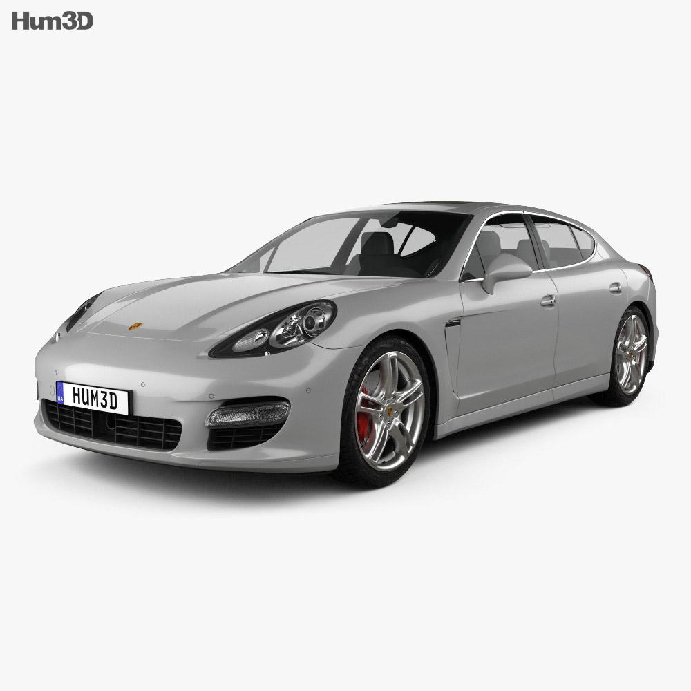 Porsche Panamera 2010 3d model