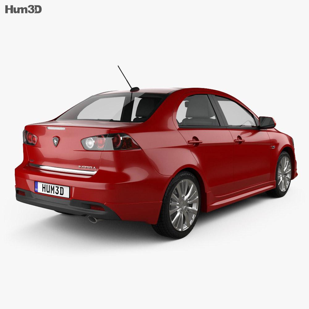 Proton Inspira 2010 3d model