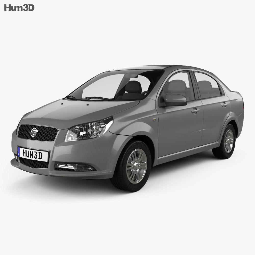 Ravon Nexia 2015 3d model
