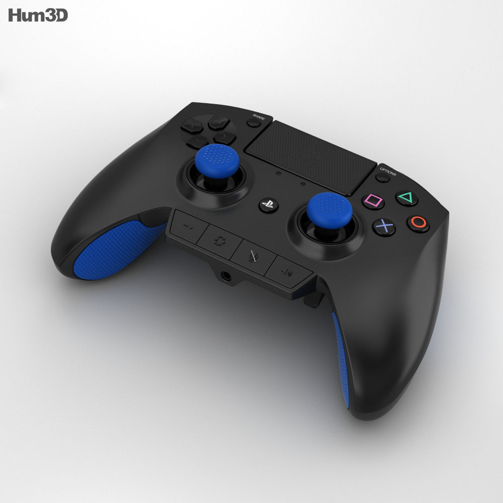 Razer Raiju Gaming Controller 3d model
