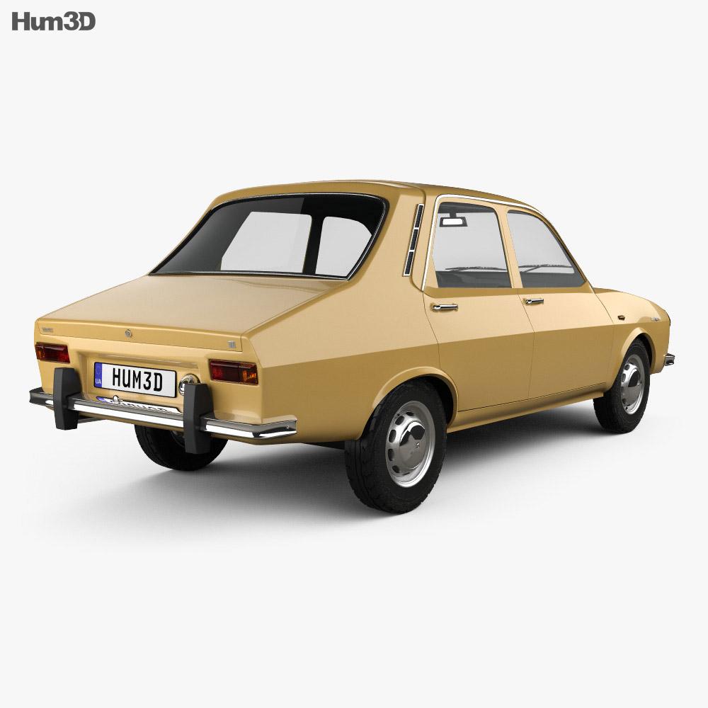 Renault 12 1969 3d model