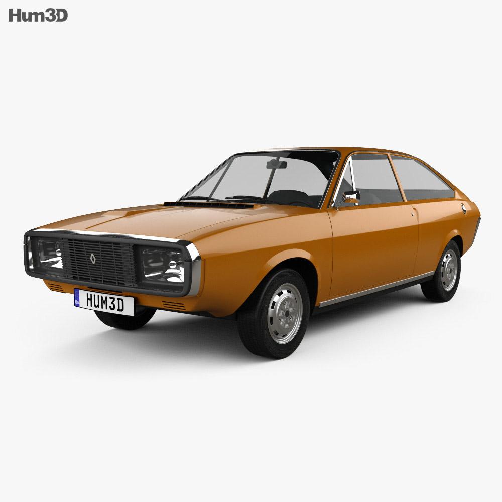 Renault 15 1971 3d model