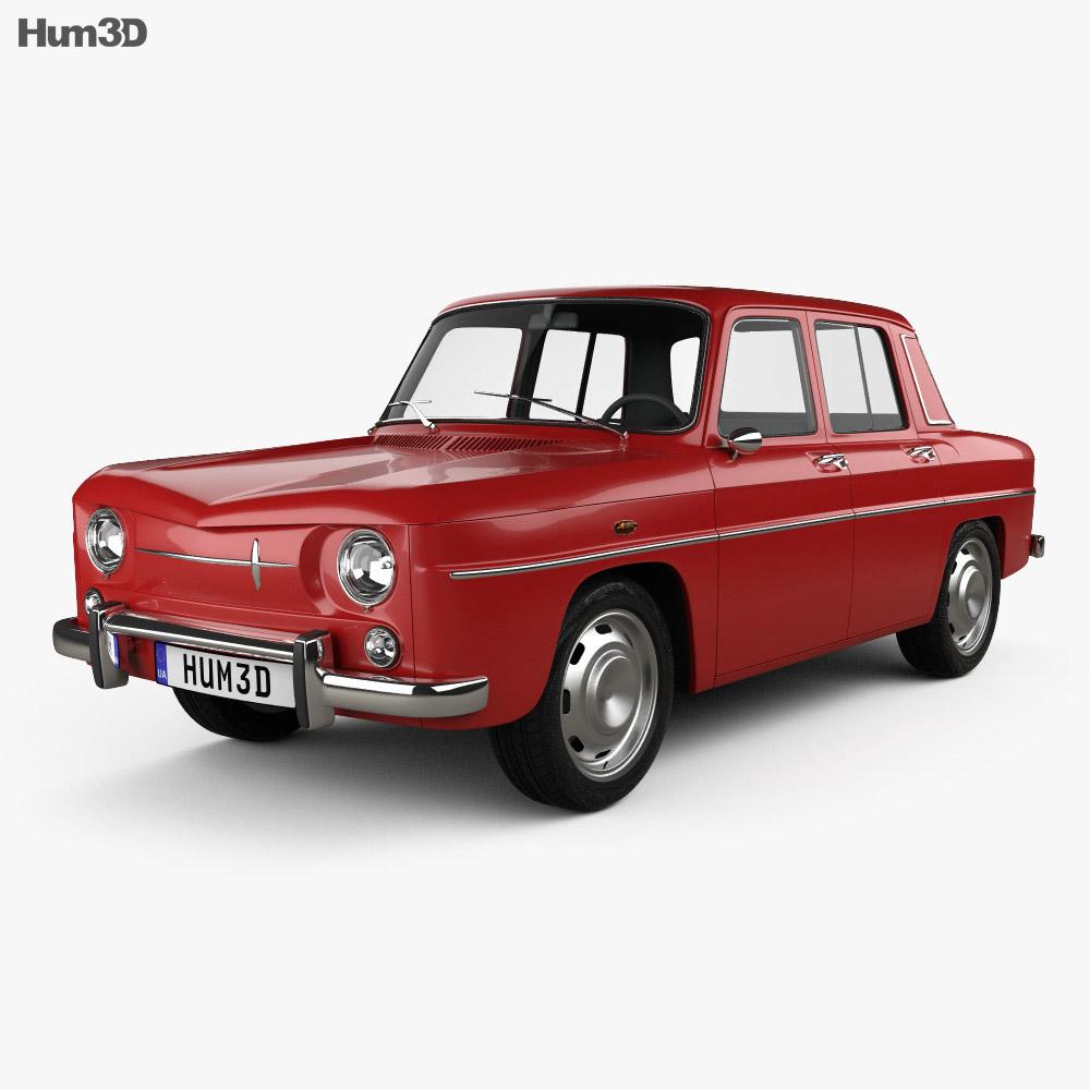 Renault 8 1962 3d model