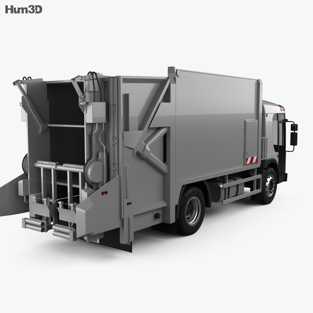 Renault Access Garbage Truck 2013 3d model