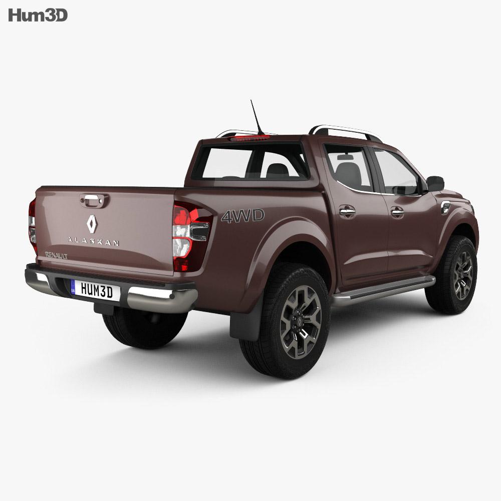 Renault Alaskan 2016 3d model