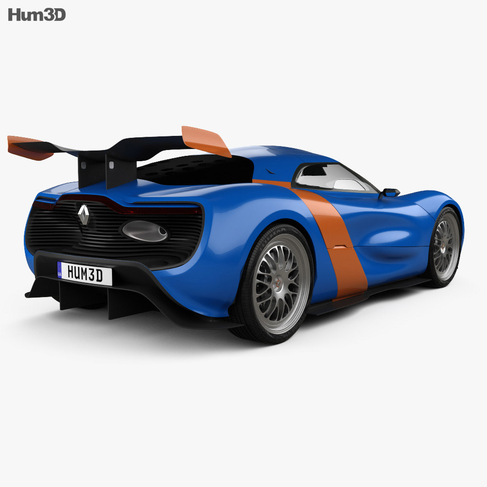 Renault Alpine A110-50 2012 3d model