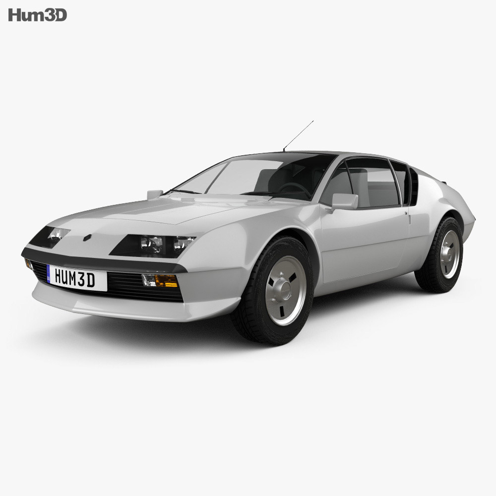Renault Alpine A310 1976 3d model