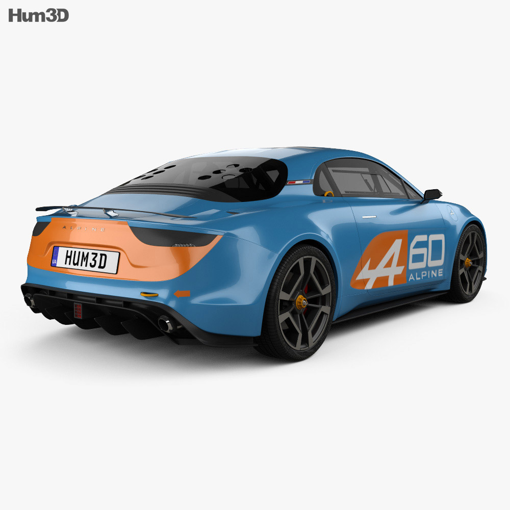 Renault Alpine Celebration 2015 3d model
