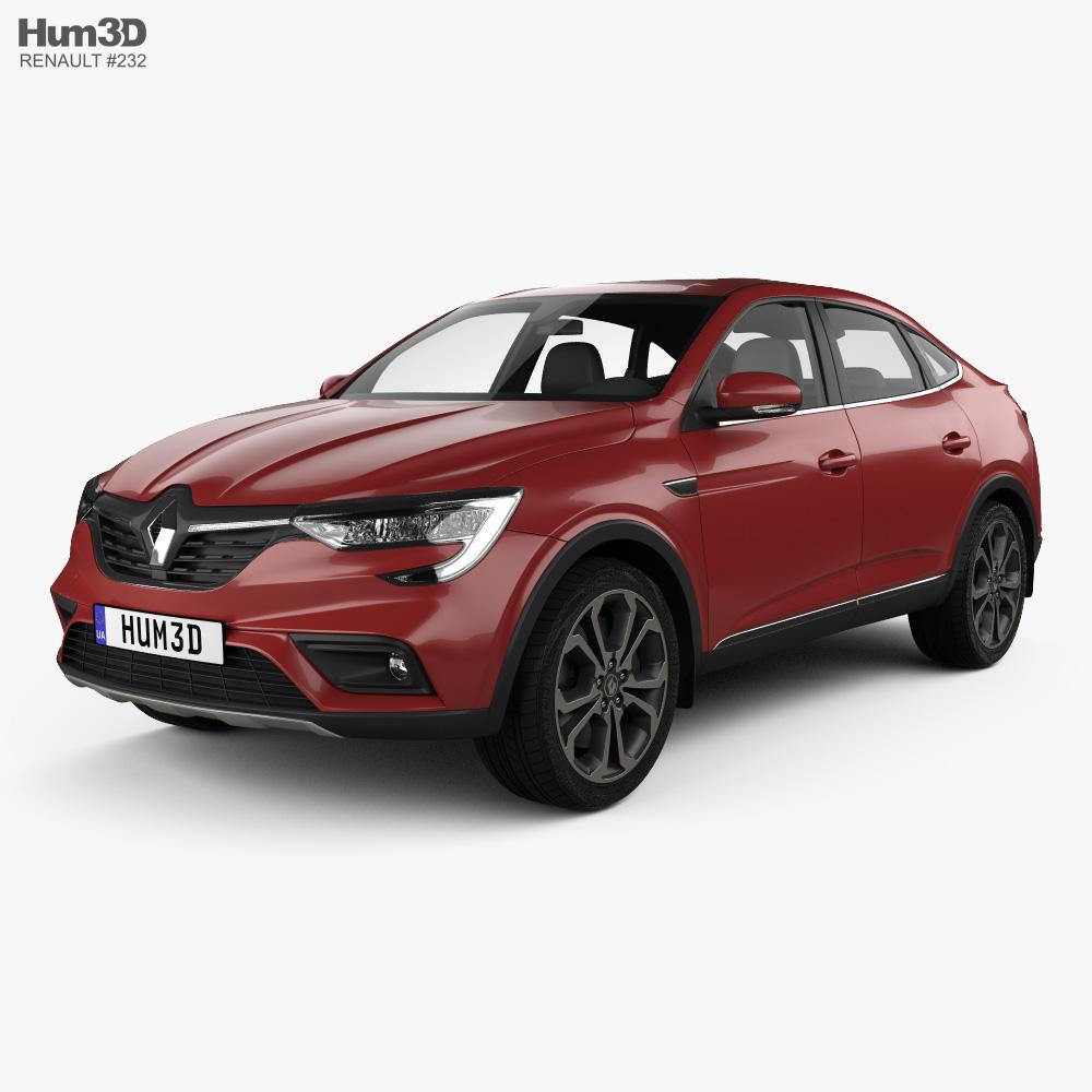 Renault Arkana 2020 3d model