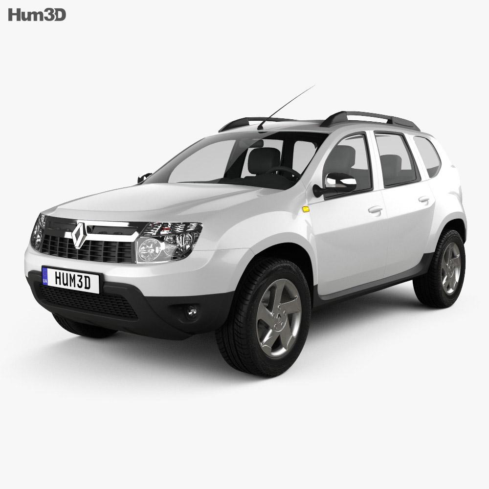 Renault Duster 2011 3d model