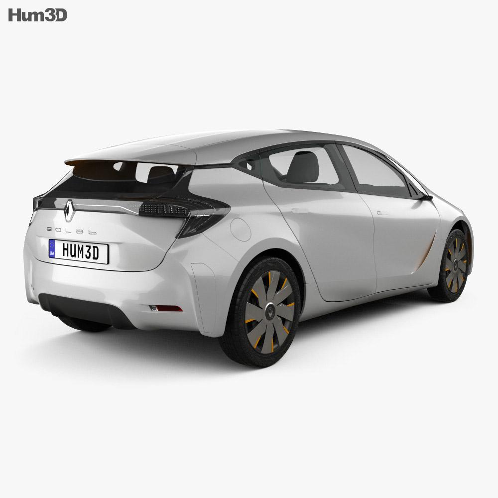 Renault Eolab 2014 3d model