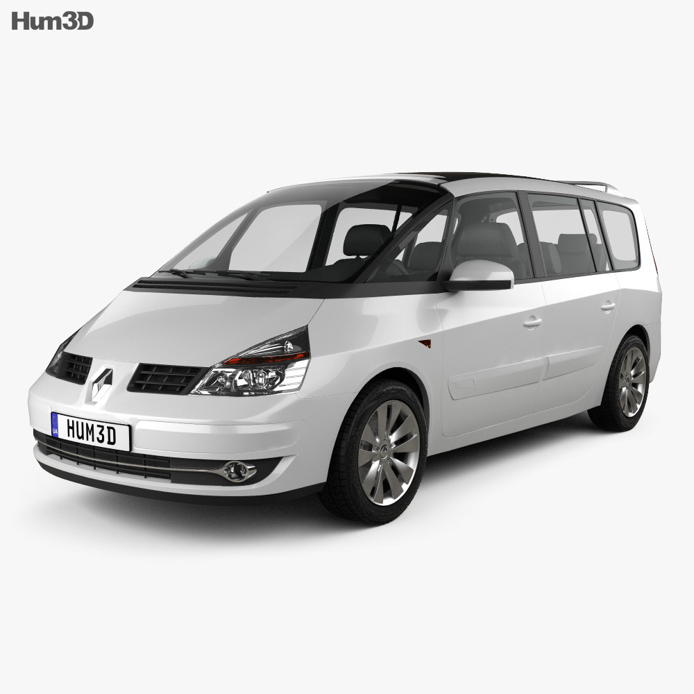 Renault Grand Espace 2011 3d model