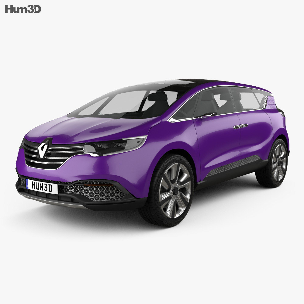 Renault Initiale Paris 2013 3d model