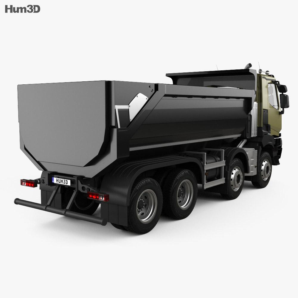 Renault K 430 Tipper Truck 2013 3d model