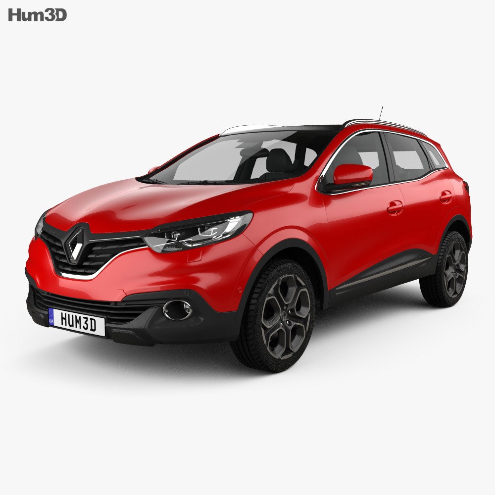 Renault Kadjar 2014 3d model