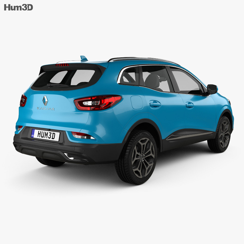 Renault Kadjar 2019 3d model
