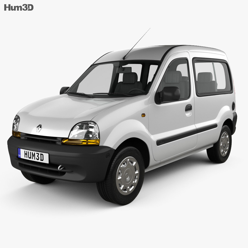 Renault Kangoo 1997 3d model