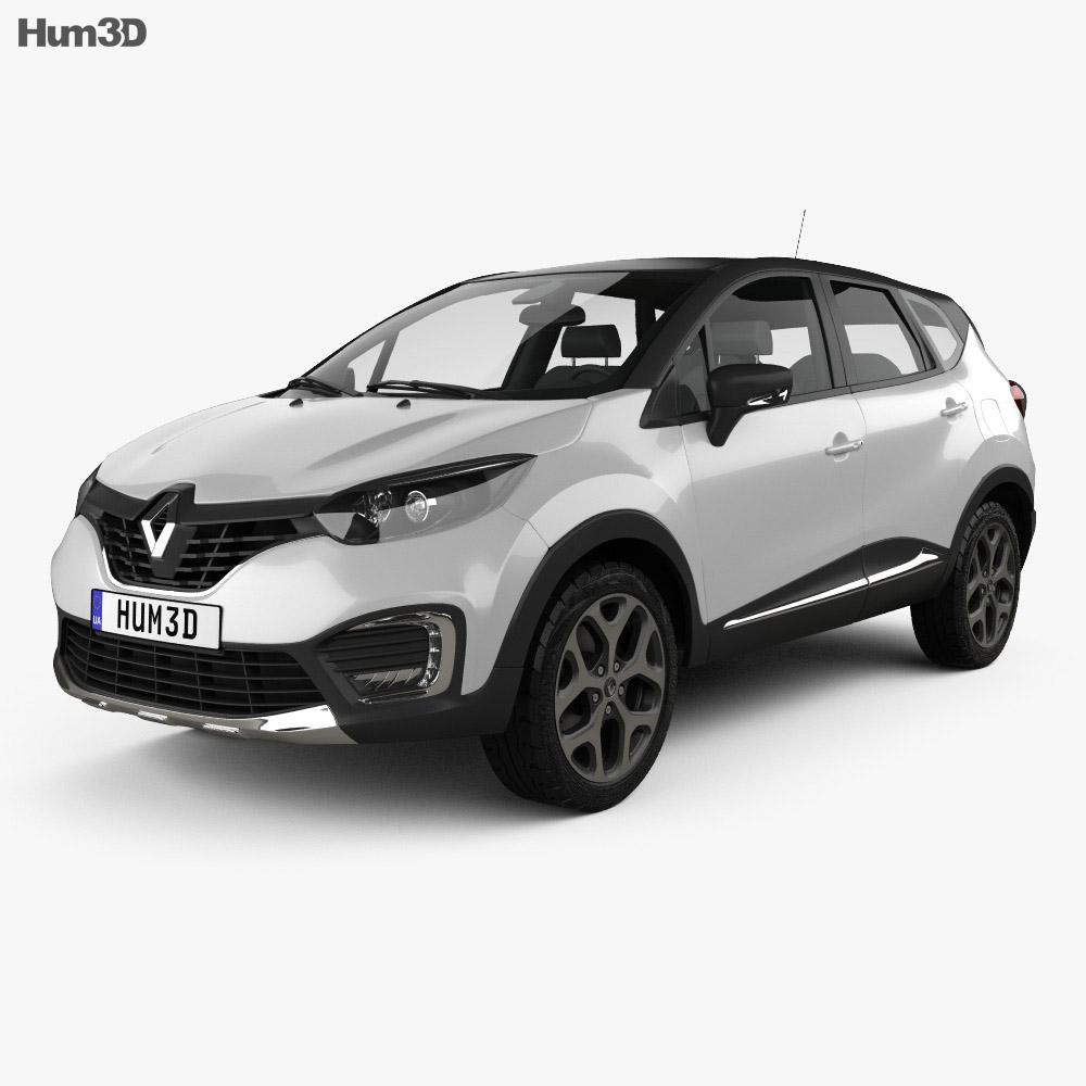 Renault Kaptur 2017 3d model