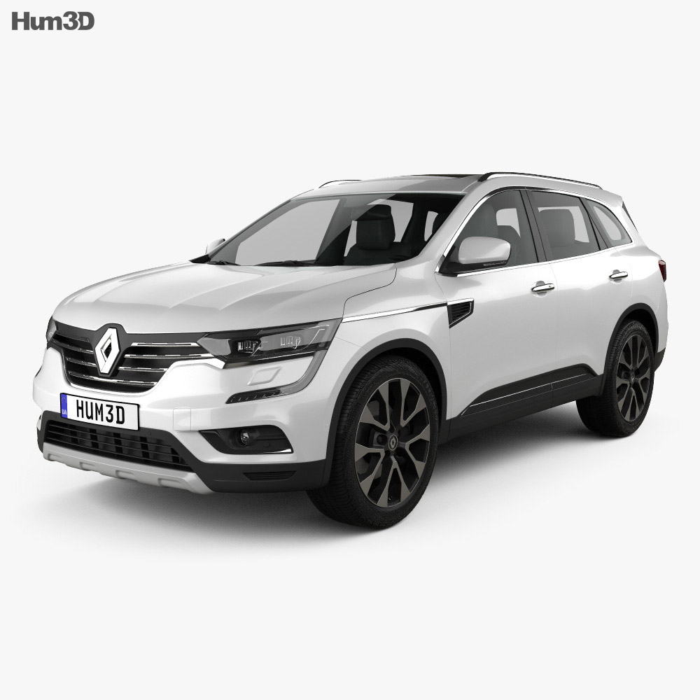 renault koleos 2016 3d model hum3d. Black Bedroom Furniture Sets. Home Design Ideas
