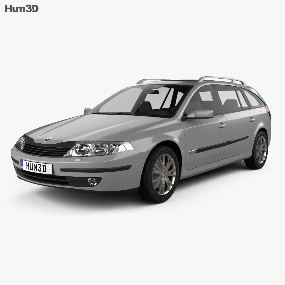 Renault Laguna estate 2000 3d model