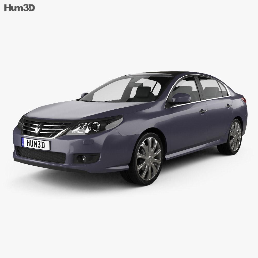 Renault Latitude 2011 3d model