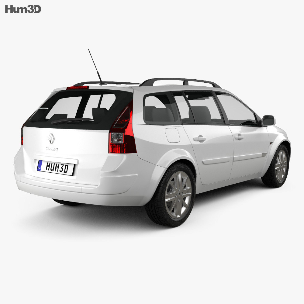 Renault Megane Grandtour 2003 3d model
