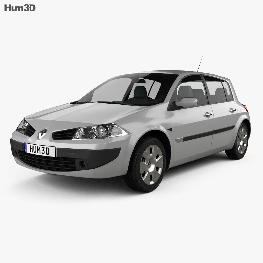 Renault Megane: Renault Megane 5-door Hatchback 2006 3D Model