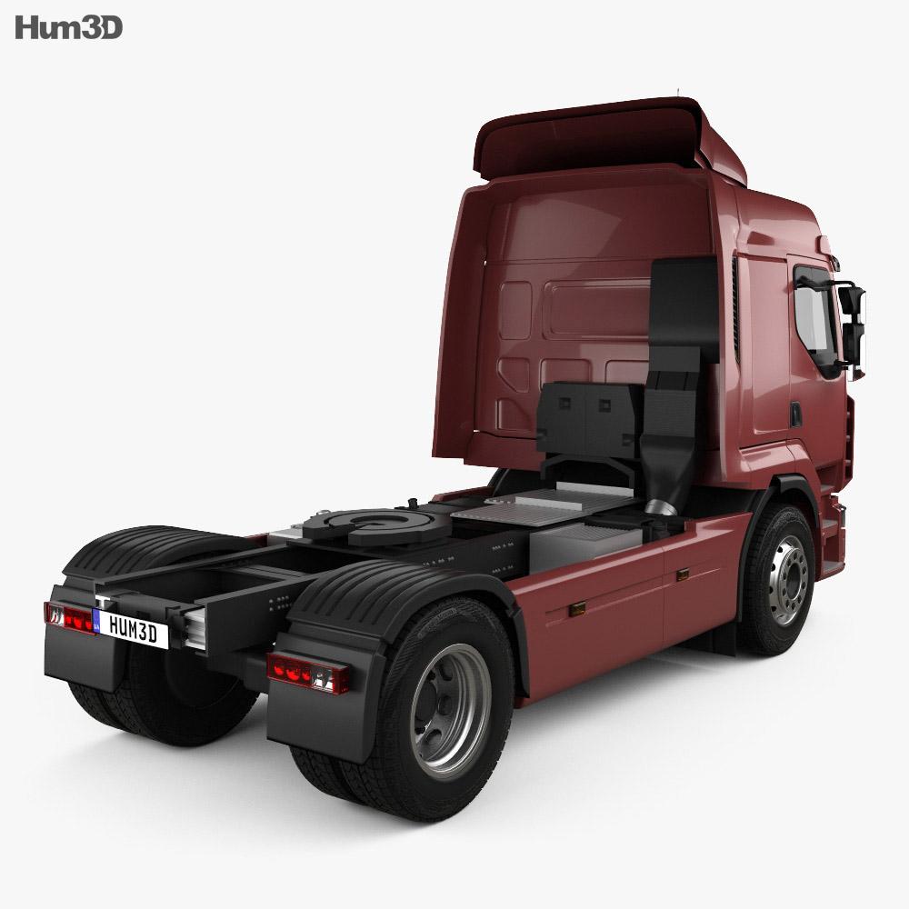 Renault Premium Route Tractor Truck 2006 3d model