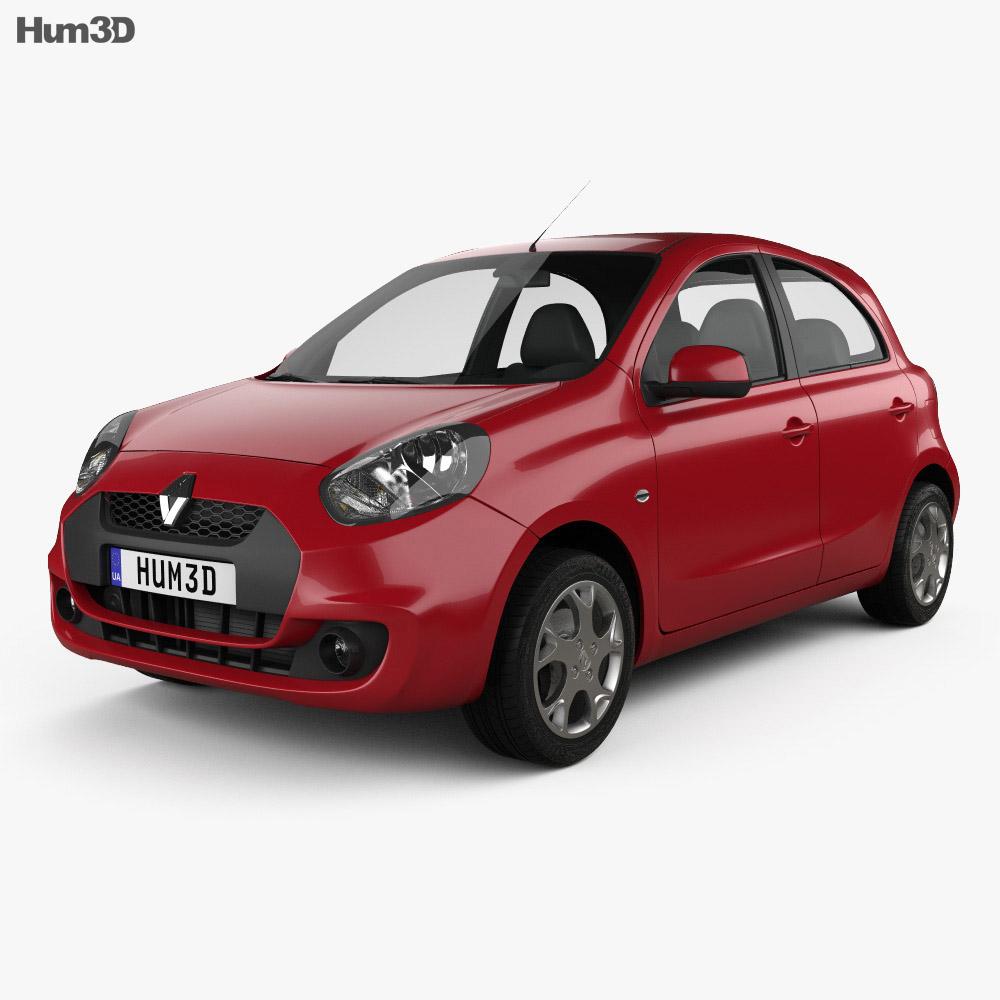 Renault Pulse 2011 3d model