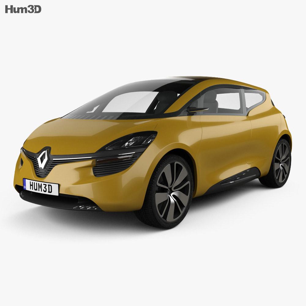 Renault R-Space 2011 3d model