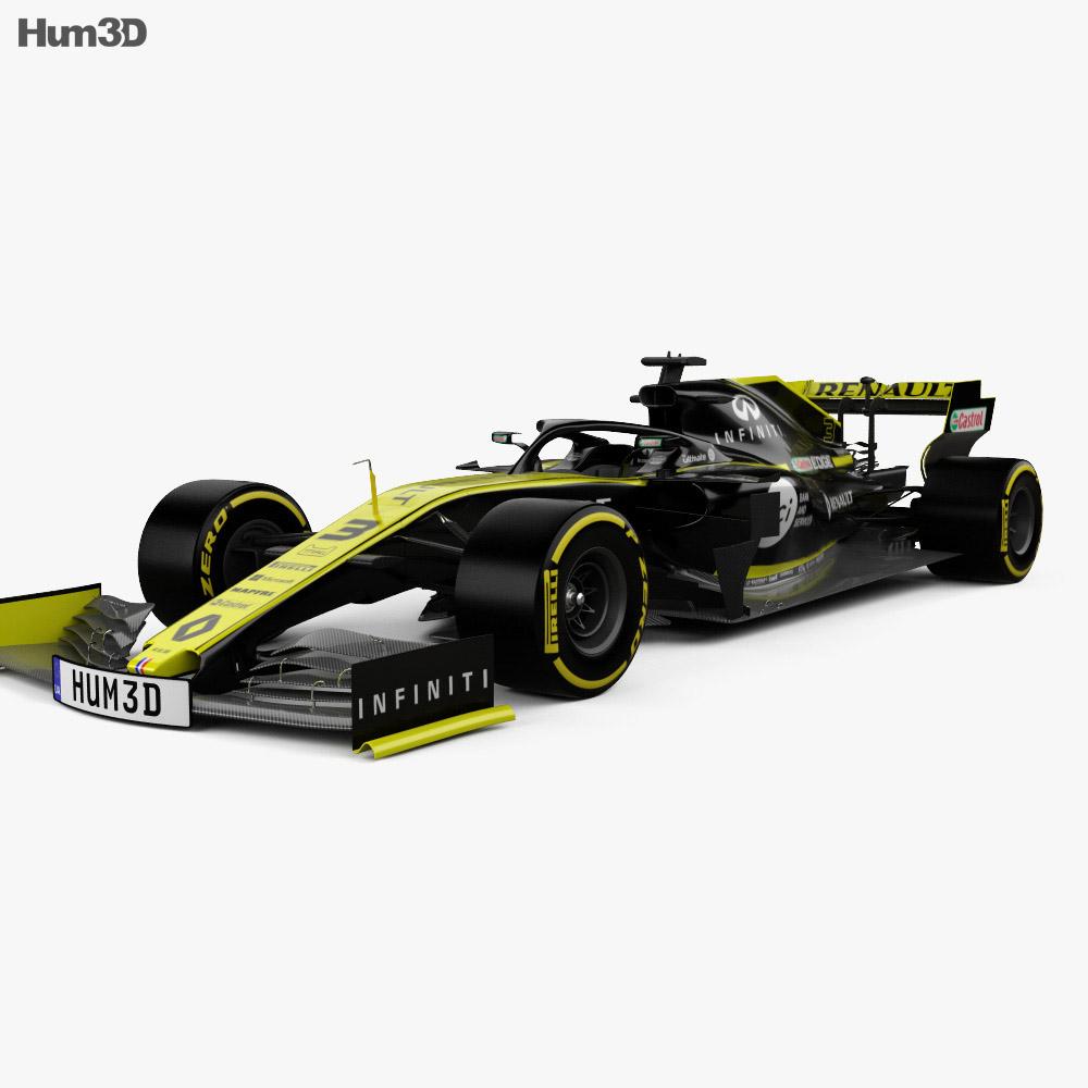 Renault R.S.19 F1 2019 3d model